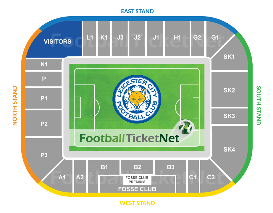Leicester City Vs Manchester United 17 05 2020 Football Ticket Net